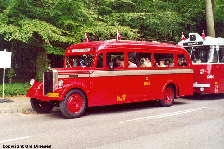DSB OU96849 i Fruens Bøge den 19. august 2000