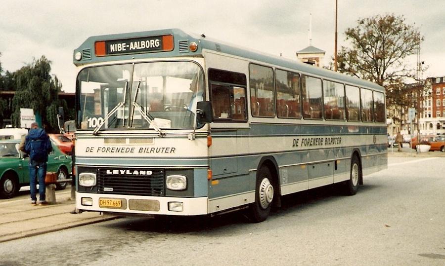 De Forenede Bilruter DH97669 i Aalborg den 19. september 1986