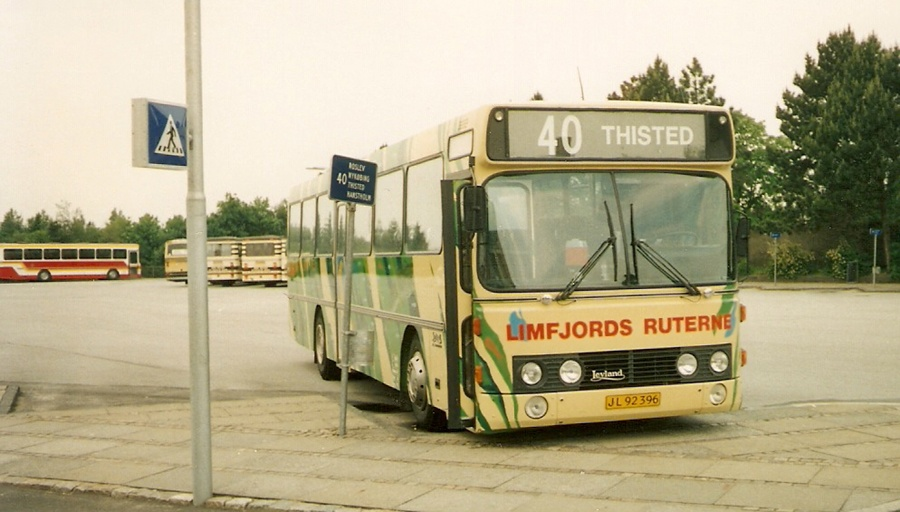 Limfjordsruterne 8/JL92396 i Skive den 9. juni 1990