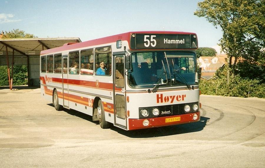 H. H. Høyer 18/LZ93149 i Viborg den 20. juli 1990