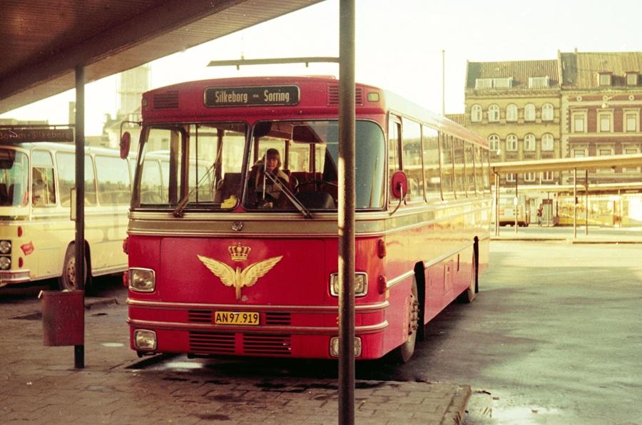 DSB 267/AN97919 på Århus rtb. den 1. februar 1975