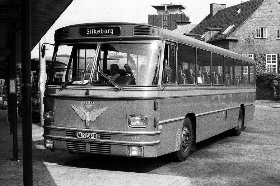 DSB 277/AU92440 på Århus rtb. den 16. juli 1976