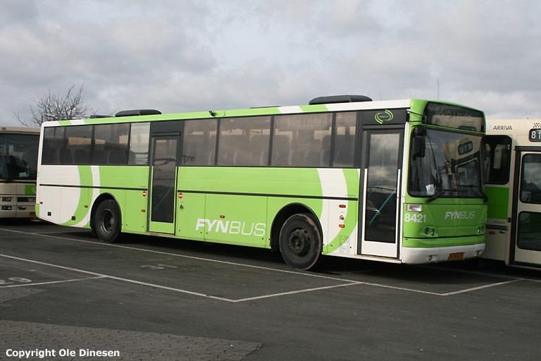 Arriva 8421/PX90675 i Odense den 15. marts 2008
