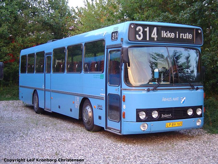 De Grønne Busser 8/LP89163 i Hinnerup den 4. august 2004