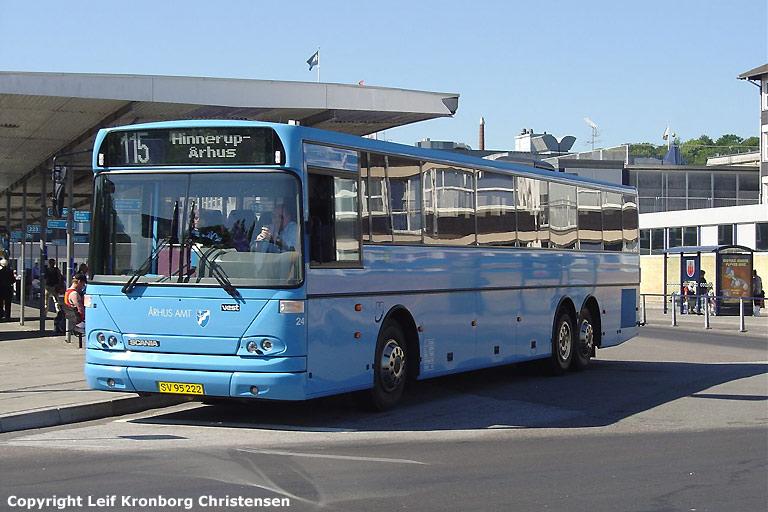 De Grønne Busser 24/SV95222 i Randers den 3. juni 2004