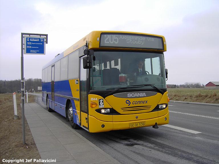 Connex 2844/SD91538 i Smedskær den 17. marts 2006