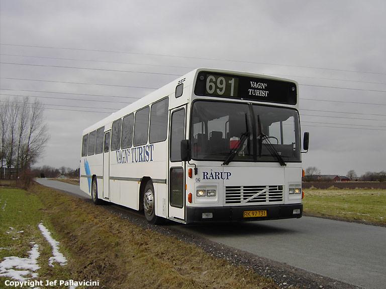 Vagns Turist 06/RK97731 ved Løsning den 13. marts 2006