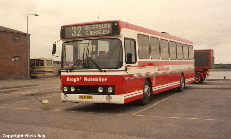 Bendt Krogh MS91033 i Nykøbing M. den 16. september 1993