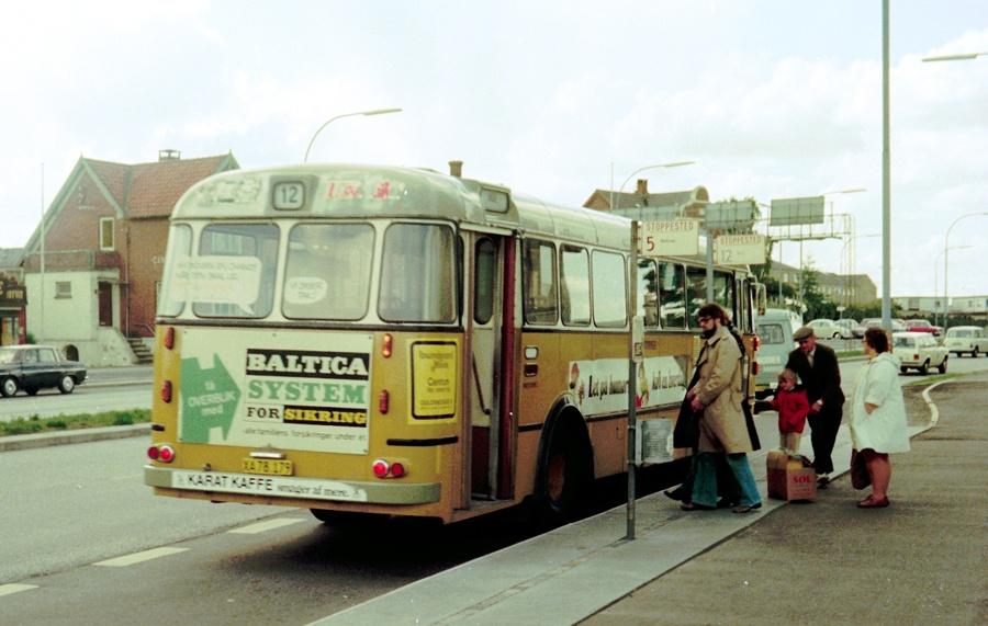 Århus Sporveje 179/XA78179 på Viby Torv den 30. maj 1975
