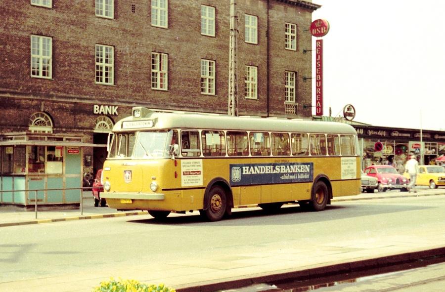 Århus Sporveje 182/XA78182 på Banegårdspladsen i Århus den 4. juni 1975