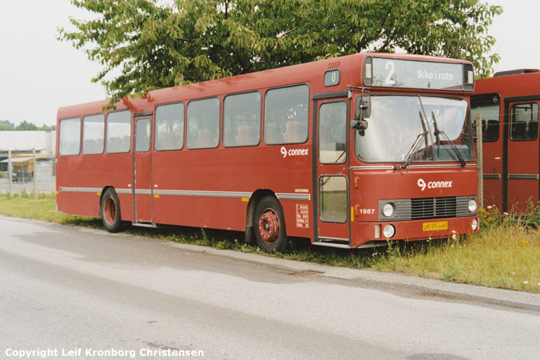 Connex 1987/JR95449 i Randers den 25. juli 2003