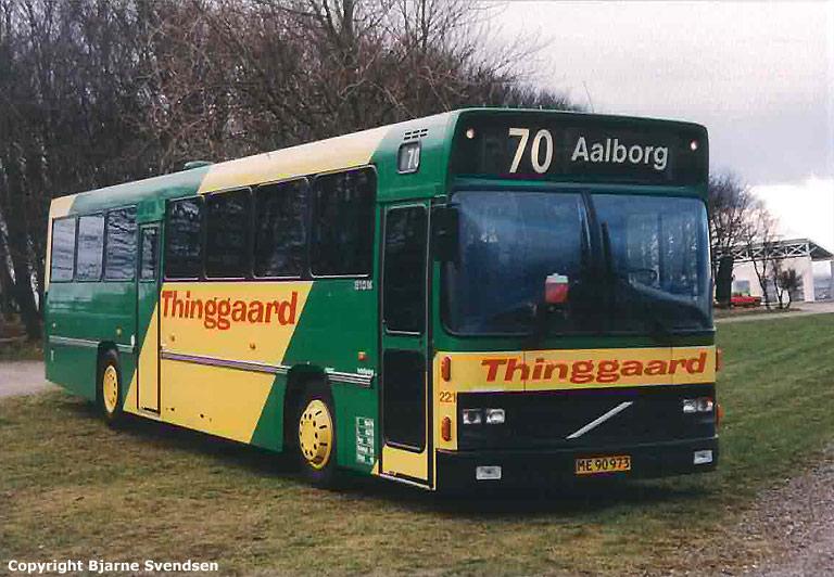 Thinggaard 221/ME90973 ved Lindholm Høje i april 1995