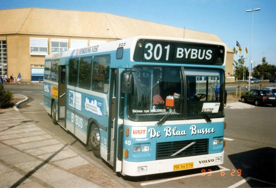 De Blaa Busser 40/MR94579 i Skive den 29. juni 1993