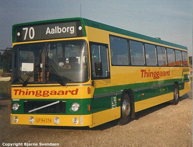 Thinggaard 216/LP94376 på havnen i Thisted i 1988