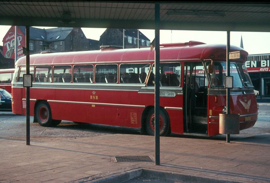 DSB 036/XA78339 på Århus rtb. den 24. juni 1973