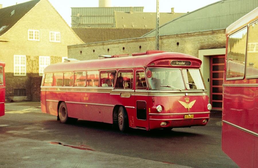 DSB 060/XA78340 på Århus rtb. den 1. februar 1975
