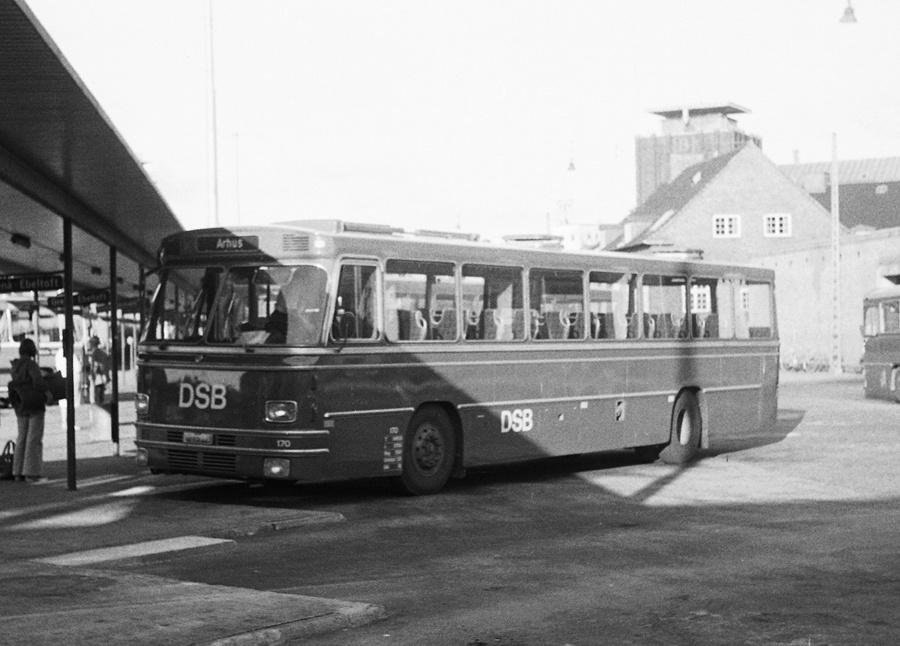 DSB 170/AD95123 på Århus rtb. den 18. august 1974