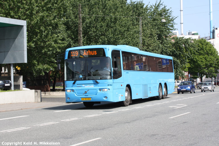 Arriva 8762/VH95083 ved Århus rutebilstation den 31. maj 2008