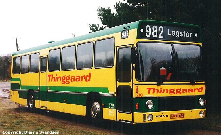 Thinggaard 210/LB91659 syd for Fjerritslev i maj 1995