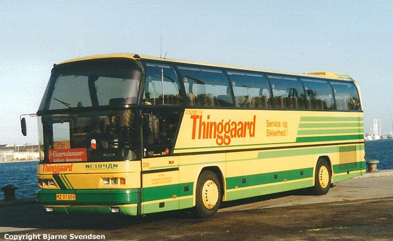 Thinggaard 228/MZ97859 på havnen i Aalborg i maj 1995
