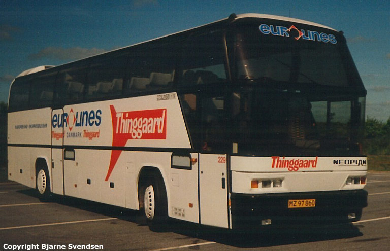 Thinggaard 229/MZ97860 syd for Kolding i september 1993