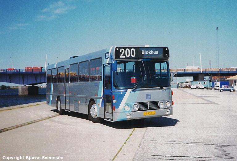 Thinggaard 251/OB93630 ved Limfjordsbroen i Aalborg den 27. juni 1995