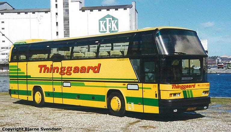 Thinggaard 212/LP94760 på Aalborg havn i juni 1995