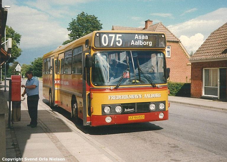 Smed JZ94022 på rute 75 i sommeren 1989