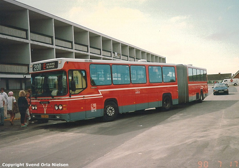 HHJ 75/LY93341 ved Hotel Nordsøen i Blokhus den 17. juli 1990