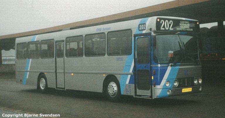 Combus 8079/NB97694 på godsbanen i Aalborg den 7. december 1997