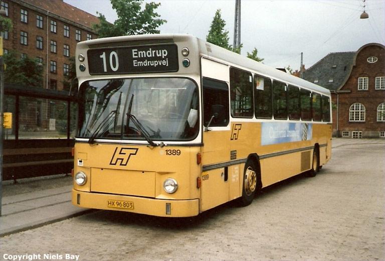 HT 1389/HX96803 på Toftegårds Plads i Valby den 22. juni 1988