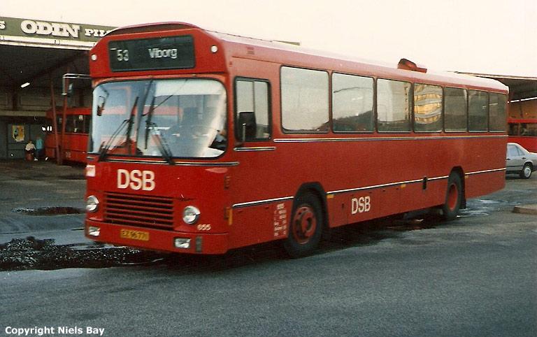 DSB 655/EZ96771 på Viborg rtb. den 3. oktober 1986