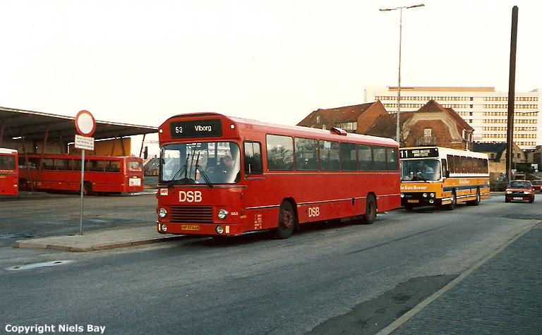 DSB 853/HP97649 på Viborg rtb. den 3. oktober 1986