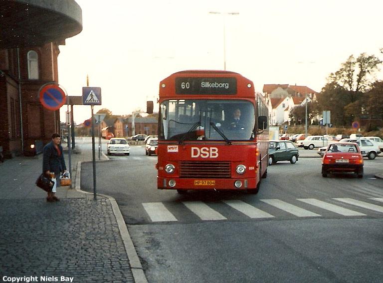 DSB 859/HP97804 ved Viborg rtb. den 3. oktober 1986