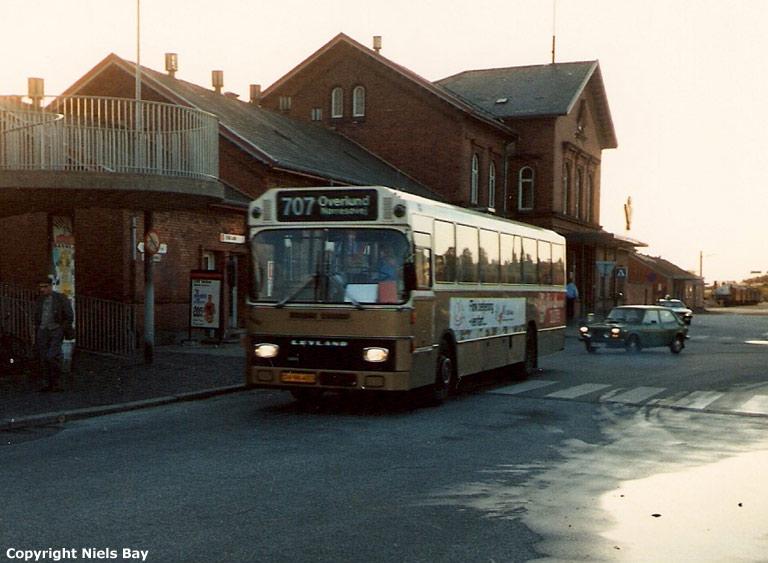 Pan Bus 110/DV96433 på Viborg rtb. den 3. oktober 1986
