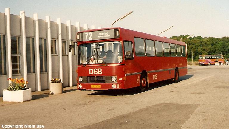 DSB 997/JR95514 på Aalborg rtb. den 25. maj 1989