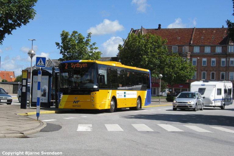 Jørns Busrejser UU97609 på Brønderslev rutebilstation den 17. juli 2008