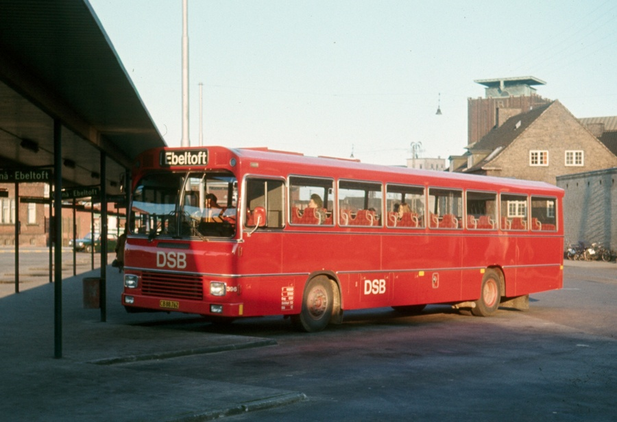 DSB 396/CB88762 på Århus rtb. den 24. marts 1974