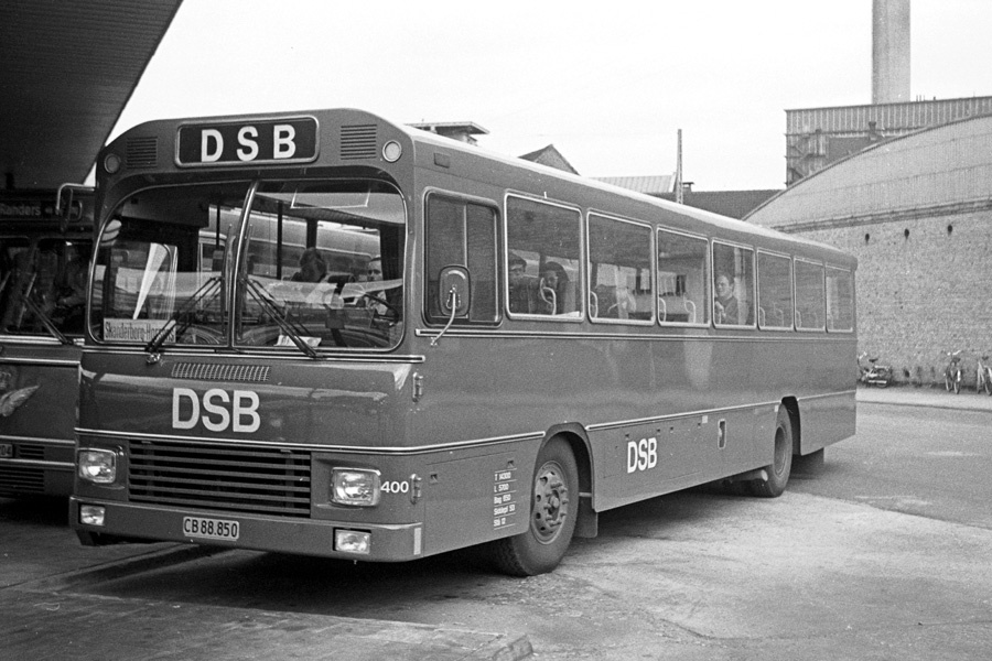 DSB 400/CB88850 på Århus rtb. den 9. marts 1973