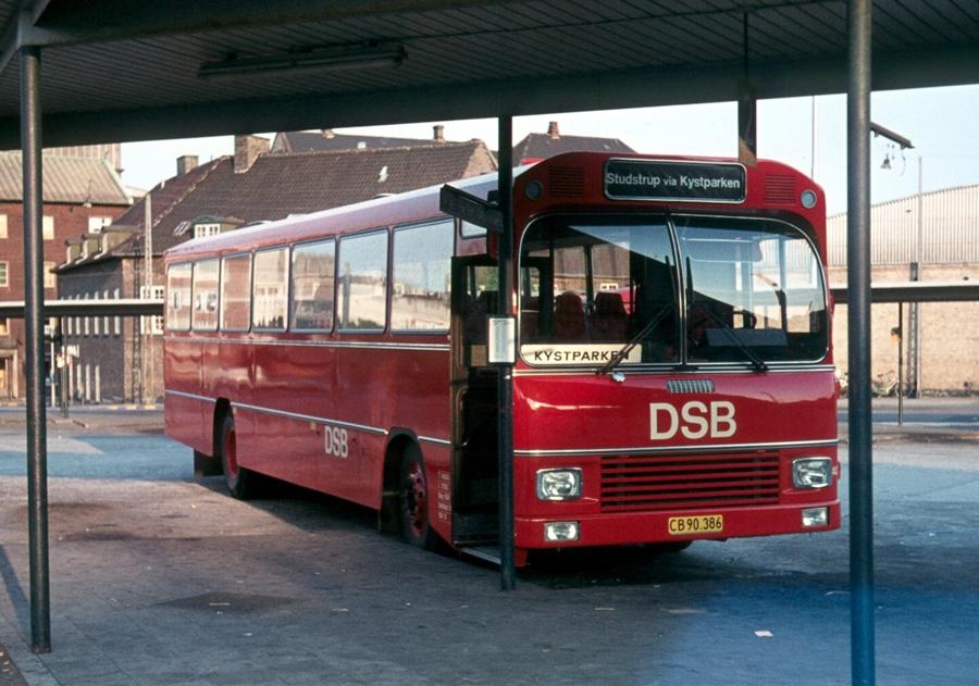 DSB 404/CB90386 på Århus rtb. den 24. juni 1973