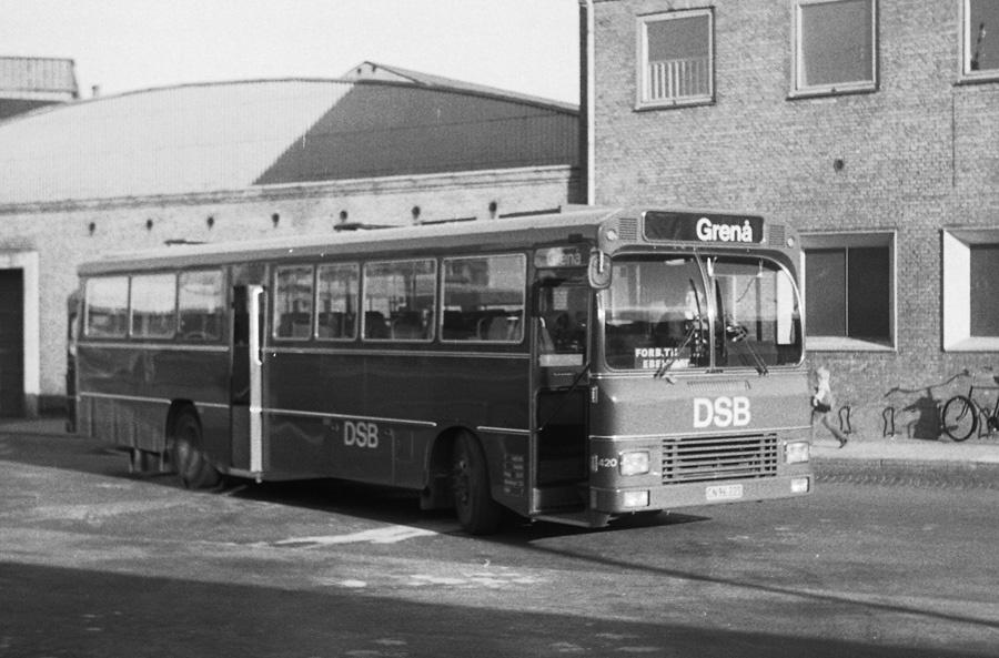 DSB 420/CN96225 på Århus rtb. den 18. august 1974