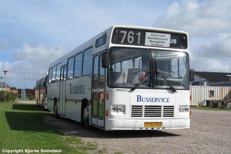 Vrå Busservice OY96064 ved Hotel Skaga i Hirtshals den 9. august 2008