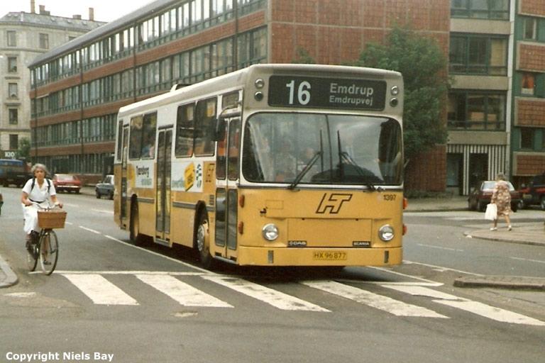 HT 1397/HX96877 i Dybbølsgade i København den 23. juni 1988