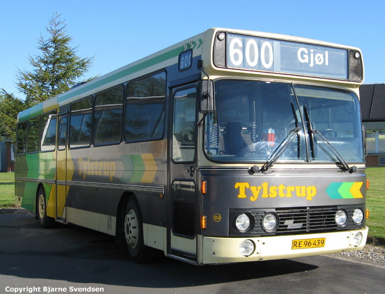 Tylstrup Busser 154/RE96439 i Aabybro den 16. august 2008