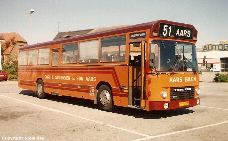 Aars Bilen HY94461 på Aars rtb. den 24. maj 1989
