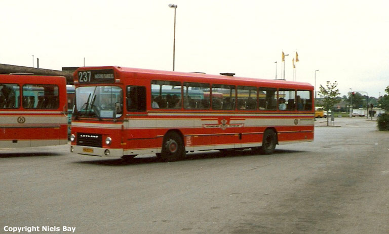Østhimmerlands Rutebiler 63/HT96134 på Randers rtb. den 10. maj 1988