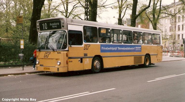 HT 1546/JE92948 på Ny Carlsbergvej i København den 5. maj 1989