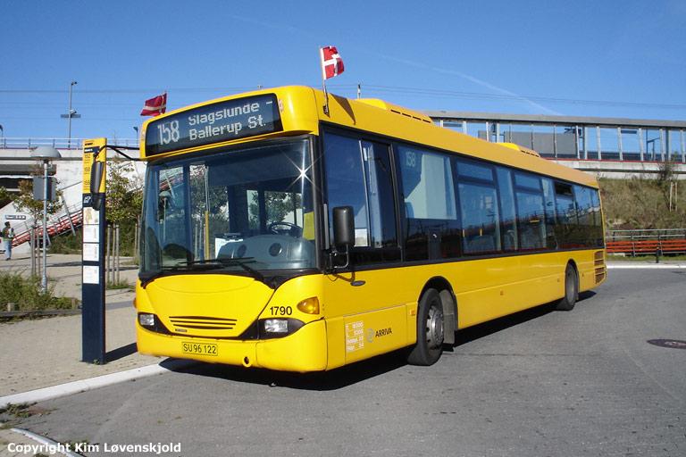 Arriva 1790/SU96122 ved Kildedal st. den 16. oktober 2005