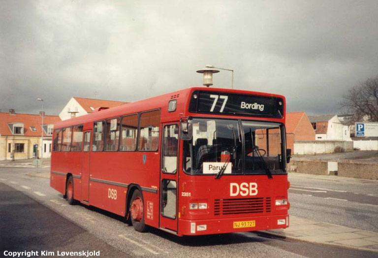 DSB 2351/NJ93727 i Herning et ukendt år
