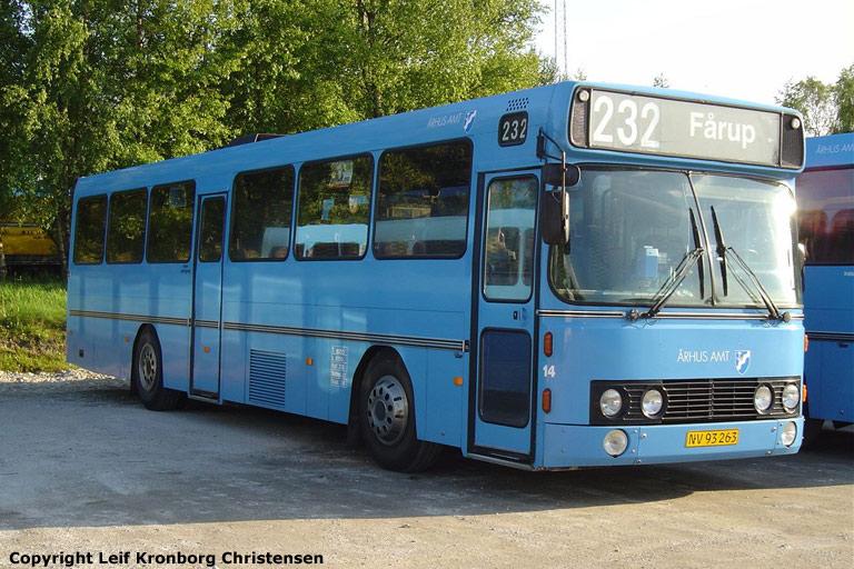 Faarup Rute- og Turistbusser 14/NV93263 i Faarup den 3. juni 2004